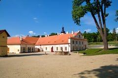 Klooster Plasy royalty-vrije stock fotografie