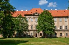 Klooster Plasy royalty-vrije stock foto