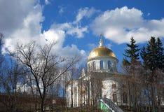 Klooster pskovo-Pechersky Stock Afbeeldingen
