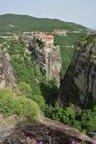 Klooster Roussanou Stock Afbeeldingen