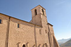 Klooster S Francesco in Umbrië Stock Afbeelding