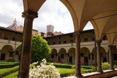 Klooster San Lorenzo in Florence royalty-vrije stock foto