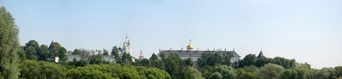 Klooster savvino-Storozhevsky Stock Fotografie