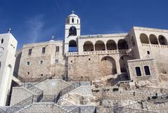 Klooster, Sednaya, Syrië royalty-vrije stock afbeeldingen