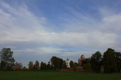 Klooster spaso-Borodino royalty-vrije stock afbeeldingen