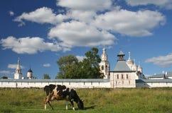 Klooster spaso-Prilutskii stock foto's