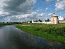 Klooster spaso-Prilutsky Royalty-vrije Stock Foto