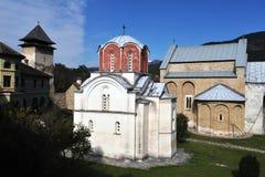 Klooster Studenica Royalty-vrije Stock Afbeelding
