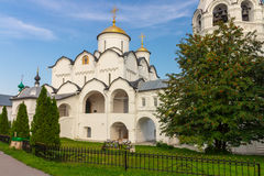 Klooster in Suzdal Rusland Stock Afbeelding