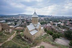 Klooster in Tbilisi Royalty-vrije Stock Foto