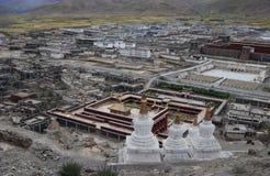 Klooster in Tibet Stock Fotografie