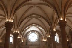 Klooster van Alcobaça, in Portugal, als patrimonium van het mensdom door Unesco wordt geclassificeerd die royalty-vrije stock foto's