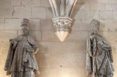 Klooster van Alcobaça, in Portugal, als patrimonium van het mensdom door Unesco wordt geclassificeerd die stock foto's