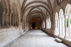 Klooster van Alcobaça, in Portugal, als patrimonium van het mensdom door Unesco wordt geclassificeerd die royalty-vrije stock fotografie