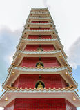 Klooster van 10000 buddhas in Hongkong, China Stock Fotografie