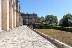 Klooster van Christus, Portugees Historisch Klooster en Kasteel van 1520 royalty-vrije stock afbeelding