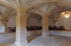 Klooster van Christus Tomar Portugal royalty-vrije stock foto
