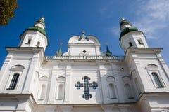 Klooster van de Eletsky het Heilige Veronderstelling, Chernigiv, de Oekraïne Royalty-vrije Stock Afbeeldingen
