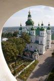 Klooster van de Eletsky het Heilige Veronderstelling, Chernigiv, de Oekraïne Royalty-vrije Stock Foto