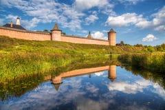 Klooster van Heilige Euthymius Suzdal, Rusland stock fotografie
