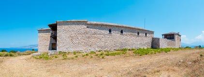 Klooster van Heilige George, Albanië stock afbeelding