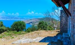 Klooster van Heilige George, Albanië royalty-vrije stock foto