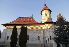Klooster van Heilige John Nieuw, Suceava, Roemenië royalty-vrije stock afbeeldingen