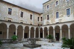 Klooster van het Franciscan klooster, Zadar Stock Foto's