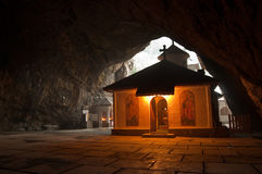 Klooster van Ialomita Stock Afbeelding