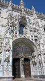 Klooster van jeronimos, Lissabon Stock Foto