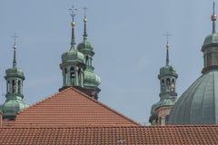Klooster van Kalwaria Zebrzydowska, en Unesco-wereldherita stock afbeeldingen