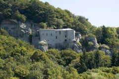 Klooster van La Verna stock foto's