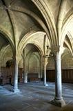 Klooster van Laoliva kolommen Royalty-vrije Stock Afbeeldingen