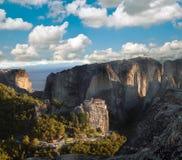 Klooster van Meteora, Griekenland royalty-vrije stock foto
