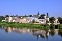 Klooster van Norbertine Sisters in Krakau, Polen stock foto's