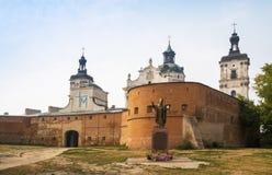 Klooster van Ongeschoeide Carmelites Berdychiv, de Oekraïne Stock Foto's