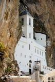 Klooster van Ostrog, Montenegro Stock Fotografie