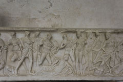 Klooster van Paradijs, Amalfi, detail Royalty-vrije Stock Afbeeldingen