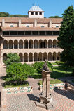 Klooster van Pedralbes Barcelona - Spanje Stock Foto