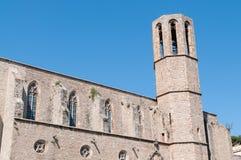 Klooster van Pedralbes Barcelona - Spanje Stock Fotografie