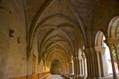 Klooster van Poblet royalty-vrije stock foto's