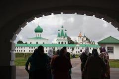 Klooster van Russische Nortwest Royalty-vrije Stock Afbeelding