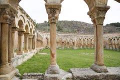 Klooster van San Juan de Duero Monastery in Soria royalty-vrije stock afbeelding