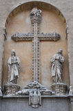 Klooster van San Juan DE los Reyes in Toledo, Spanje Royalty-vrije Stock Afbeelding