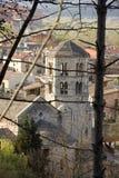 Klooster van San Pedro de Galligans in Gerona Royalty-vrije Stock Foto