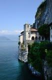 Klooster van Sant Caterina in Lago Maggiore, Italië Stock Fotografie