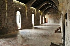 Klooster van Santa Maria DE vilabertran Stock Foto's