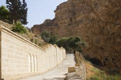Klooster van St. George omheining Stock Foto's