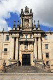 Klooster van St. Martin Pinario, Santiago Stock Foto