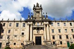 Klooster van St. Martin Pinario, Santiago DE Compo Royalty-vrije Stock Foto's